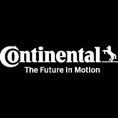 Continental logo biele