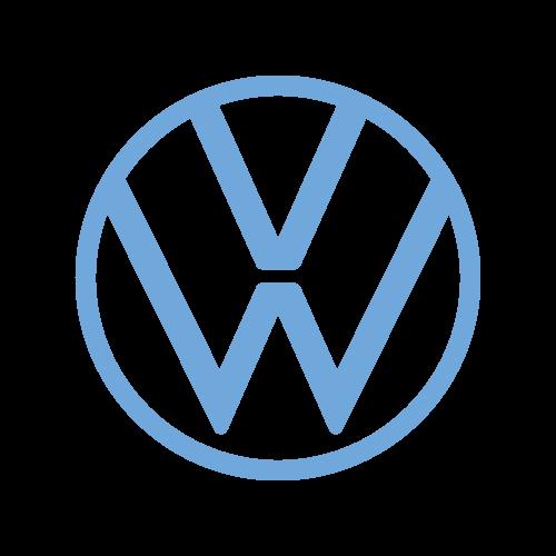 Volkswagen logo farebne