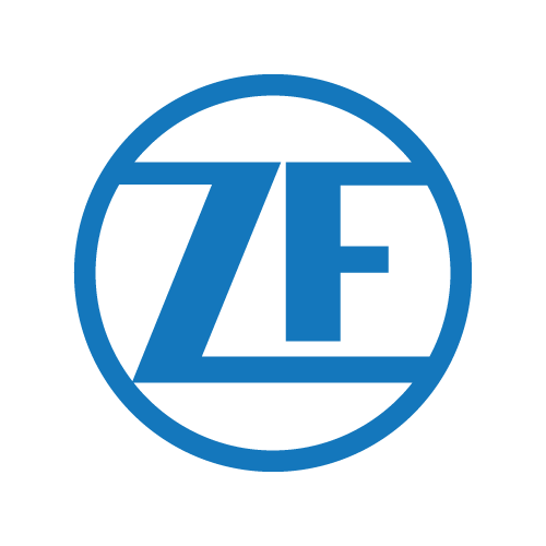 ZF logo farebne